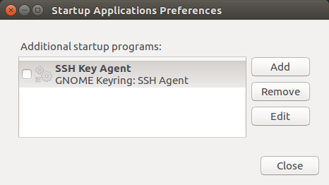 Disable GNOME Keyring SSH Agent